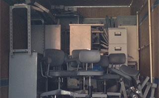 オフィスや店舗、倉庫などの片付け作業
