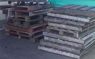 パレット(木製・プラスチック製)の処分
