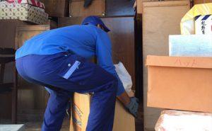産業廃棄物収集運搬車両での回収